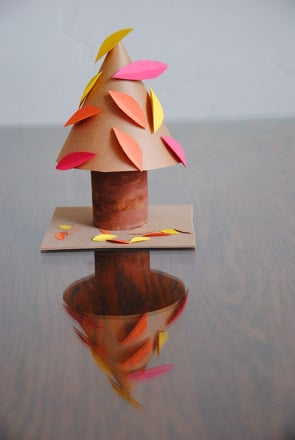 First Grade Arts & crafts Activities: Fall Tree Craft