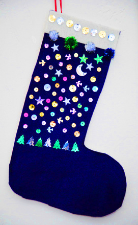 Third Grade Holidays & Seasons Activities: No-Sew Christmas Stocking