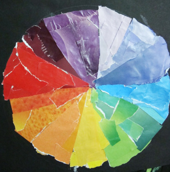 Fifth Grade Arts & crafts Activities: Color Wheel Project