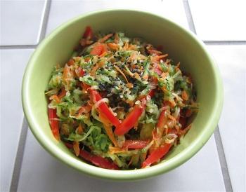 Fifth Grade Recipes Activities: Cucumber Salad