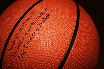 Fifth Grade Holidays & Seasons Activities: Write Dad a Basketball Message
