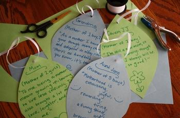 Fifth Grade Holidays & Seasons Activities: Family Tree Craft