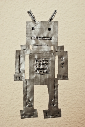 Fifth Grade Arts & Crafts Activities: Robot Decoration