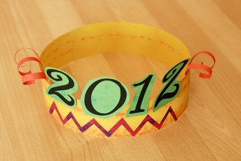 Kindergarten Holidays & Seasons Activities: New Year's Eve Hats