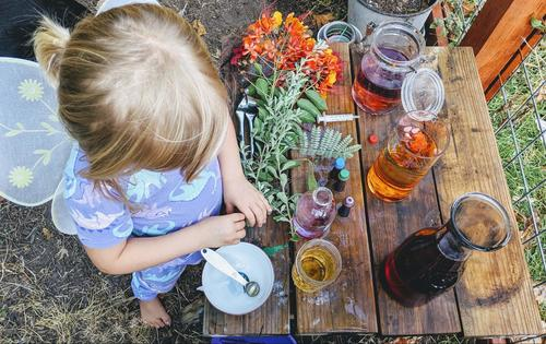 Preschool Science Activities: Make Your Own Fairy Potion