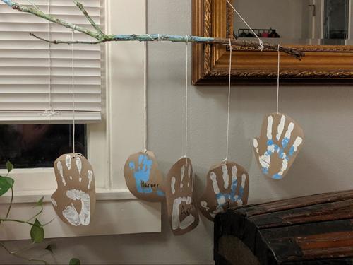 Preschool Social emotional Activities: Our Family's Belonging Branch