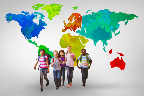 Fourth Grade Social emotional Activities: What Does It Mean to Live in a Global Community?