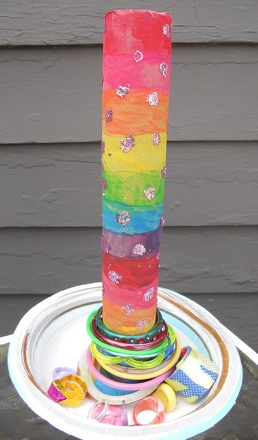 Second Grade Arts & Crafts Activities: Make a Bracelet Holder