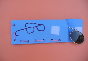 Third Grade Arts & crafts Activities: Glasses Case