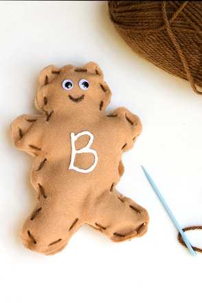 "Preschool Reading & Writing Activities: Craft a Stuffed Letter ""B"" Bear"