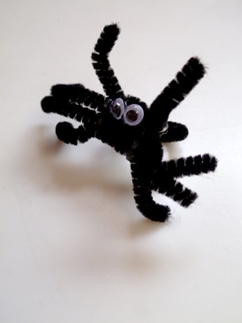 Third Grade Holidays & Seasons Activities: Spider Rings