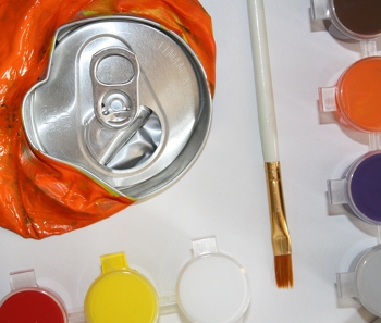 Fifth Grade Arts & crafts Activities: Create Your Own Crushed Can Artwork