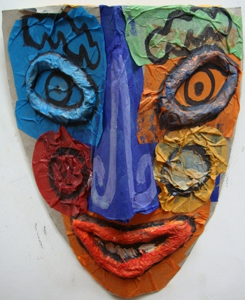 Fifth Grade Arts & crafts Activities: Make a Picasso Mask