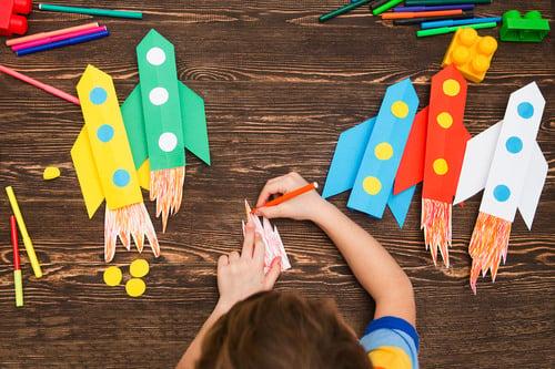 Preschool Reading & Writing Activities: Rocket Like Mae Jemison