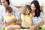 Here are some simple tips for raising a child who appreciates good food.