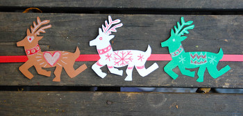 Third Grade Arts & Crafts Activities: Christmas Reindeer Decoration