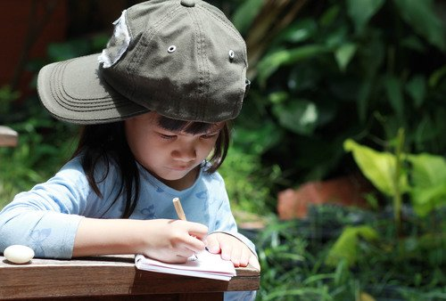 Preschool Reading & Writing Activities: Jane Goodall and Nature Journaling