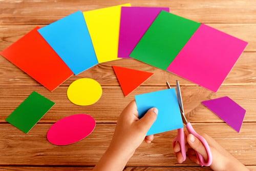 Preschool Math Activities: Make Art Like Mary Blair
