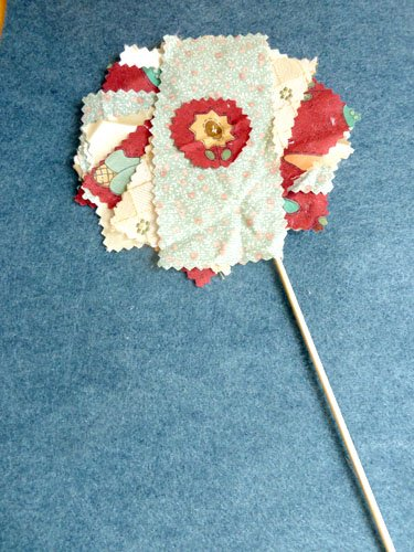 Middle School Arts & Crafts Activities: Fabric Flowers