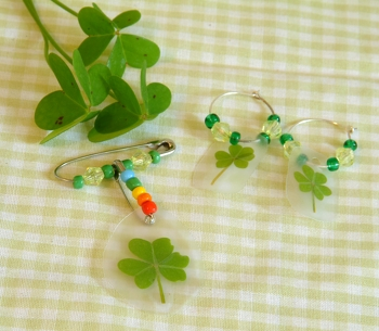 Fifth Grade Holidays & Seasons Activities: Shamrock Earrings