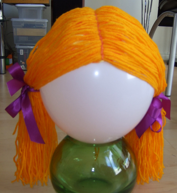 Second Grade Holidays & Seasons Activities: DIY Costume Wig