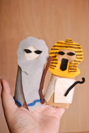 First Grade Holidays & Seasons Activities: Passover Finger Puppets