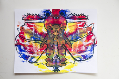 Fifth Grade Arts & Crafts Activities: Color Bugs