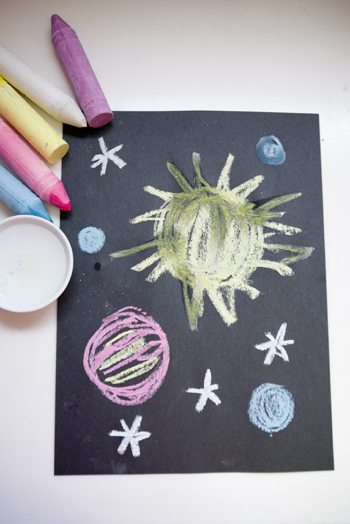 Outer Space Art Activity Education Com