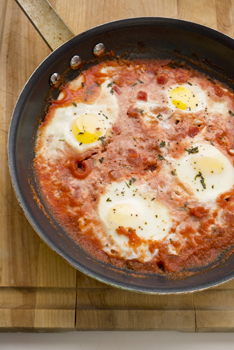 Middle School Recipes Activities: Tomato Baked Eggs