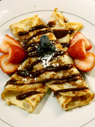 Fourth Grade Recipes Activities: Crepe Recipe