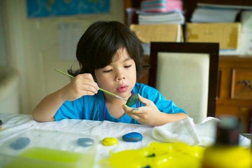Kindergarten Reading & Writing Activities: Rock Painting: Retell a Story