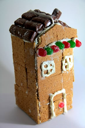 First Grade Holidays & Seasons Activities: Make a Gingerbread House
