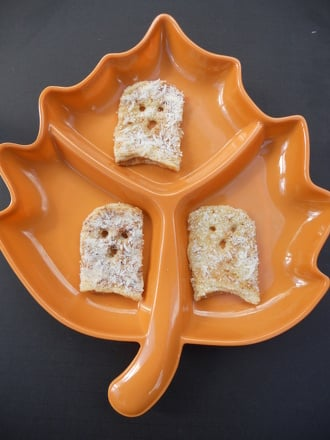 Third Grade Recipes Activities: Ghost Toast!