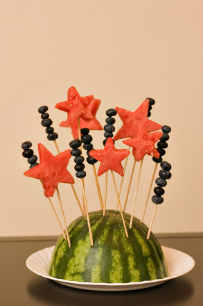 Kindergarten Holidays & Seasons Activities: Patriotic Fruit