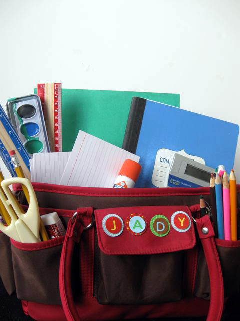 Fourth Grade Seasons Activities: Make a Homework Caddy Kit