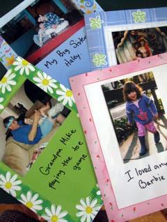 Second Grade Arts & Crafts Activities: Make a Photo Autobiography
