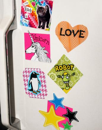 Kindergarten Arts & Crafts Activities: Craft Unique Fridge Magnets