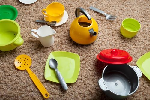 Preschool Arts & crafts Activities: Art with Household Items