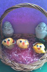 Second Grade Holidays & Seasons Activities: Easter Chicks Craft