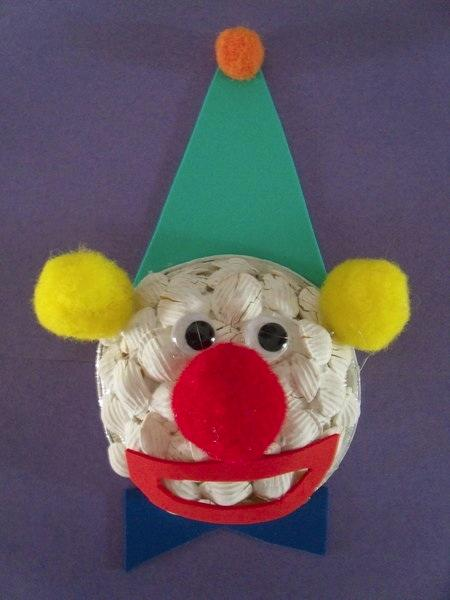 First Grade Arts & Crafts Activities: Circus Clown Craft