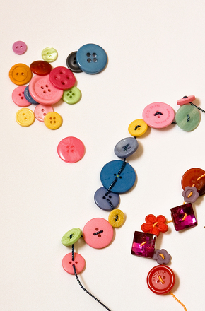 make a button bracelet activity education com