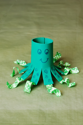 First Grade Arts & crafts Activities: Octopus Craft