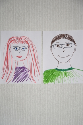 Kindergarten Holidays Activities: Create a Portrait