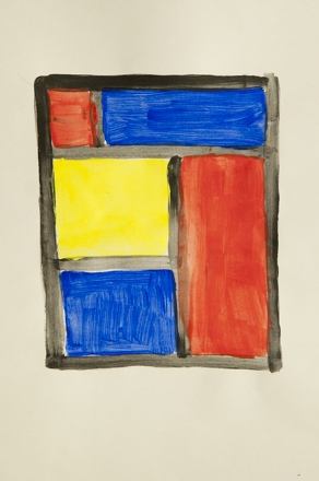 Preschool Reading & Writing Activities: Mondrian Art