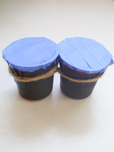 First Grade Arts & Crafts Activities: Mini Bongo Drums