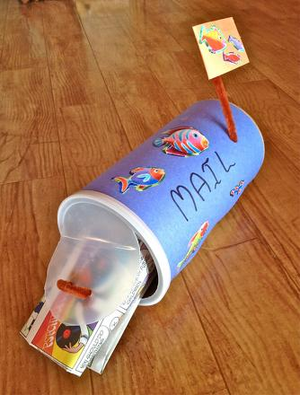 First Grade Arts & Crafts Activities: Mailbox Craft