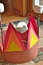 First Grade Arts & Crafts Activities: Camping Hat