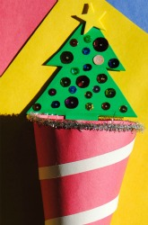 Second Grade Holidays & Seasons Activities: Candy Cane Holder
