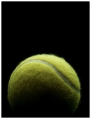 This project determines how much the rebound rates of tennis balls change after ten games.