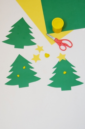Preschool Math Activities: Christmas Tree Counting